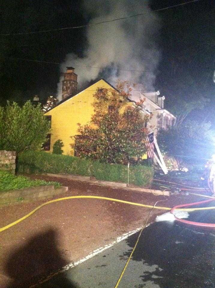 Lumberville House Fire