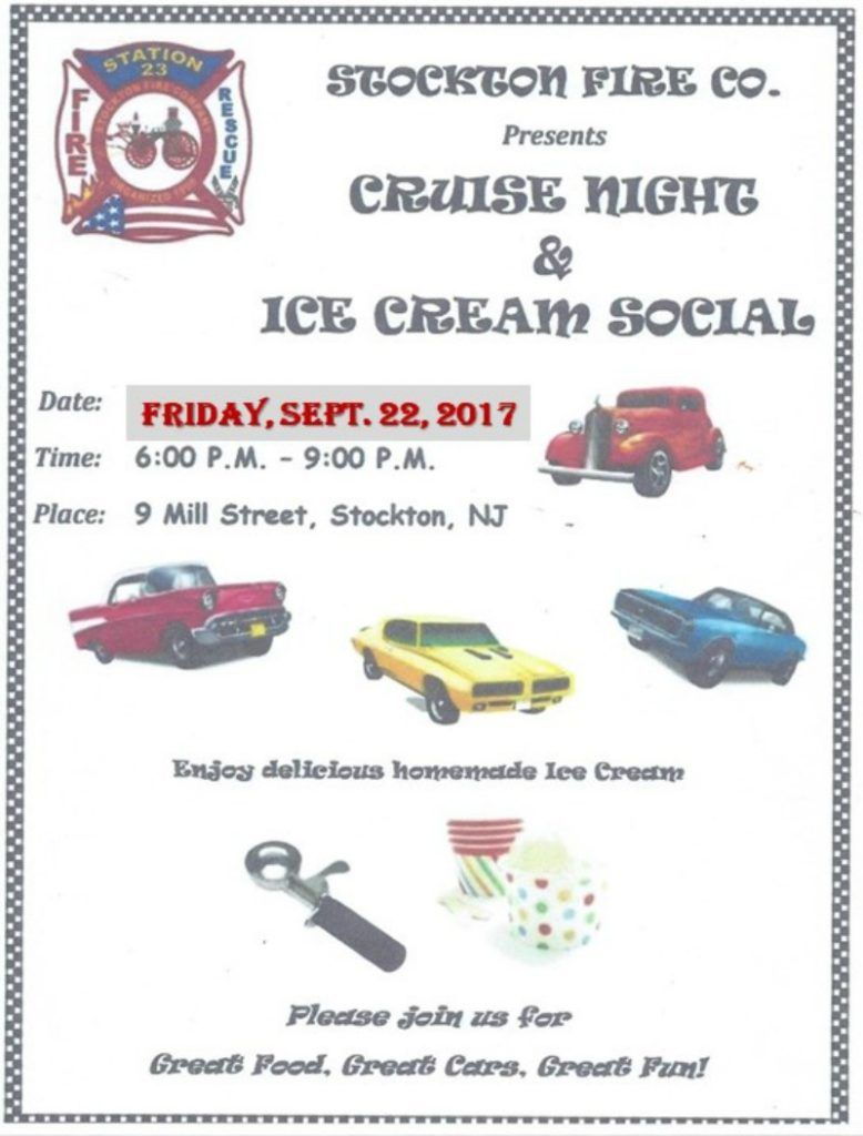Cruise Night & Ice Cream Social