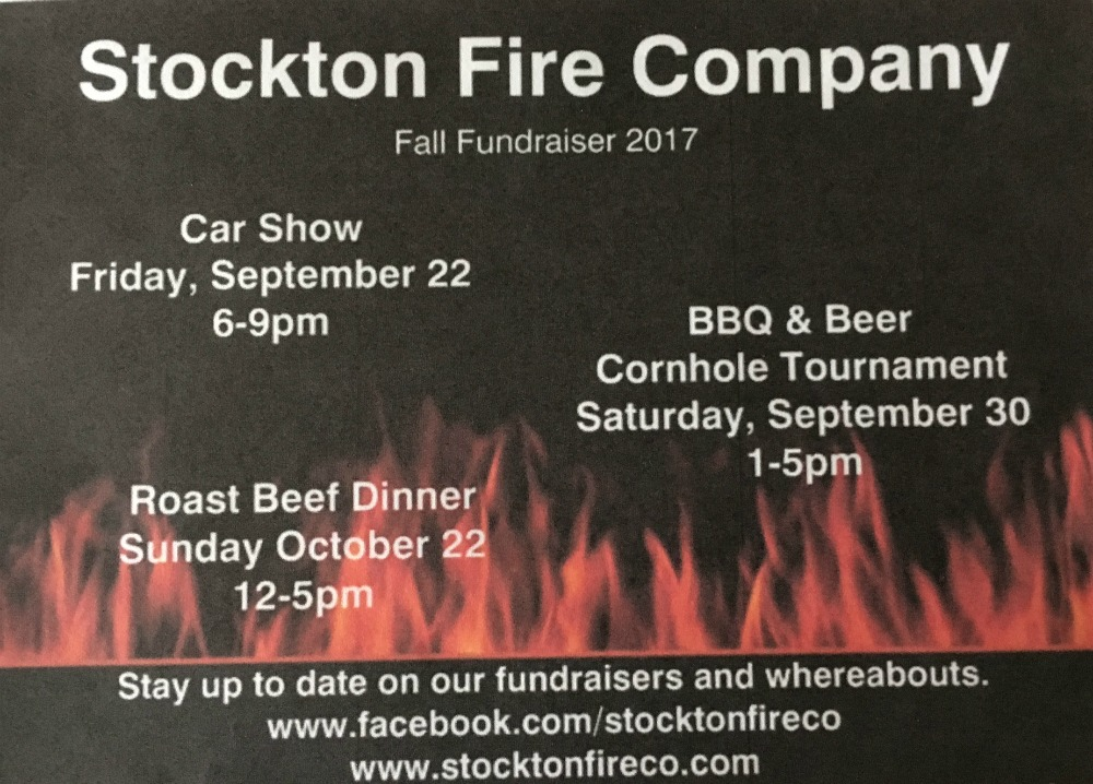 Fall 2017 Fundraiser Events
