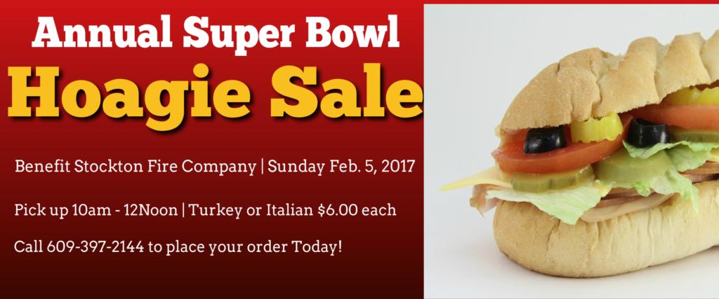 Super Bowl Sunday Hoagie Sale